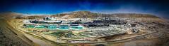 Copper Mine (malioli) Tags: chile industry mine factory minerals copper hdr coppermine calama