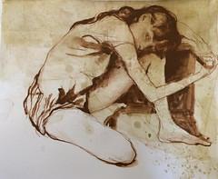 Ink drawing @inktober #inktober #inktober2016 (Dorian Vallejo) Tags: art fine drawing figure mixed media drawings oil painting dorian vallejo