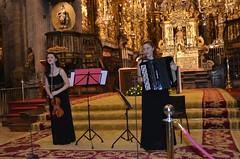 Dúo Fírveda, Marina Hermida y Nerea Rodríguez en la Catedral