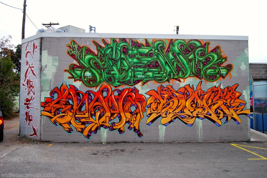 Austin Texas Graffiti.