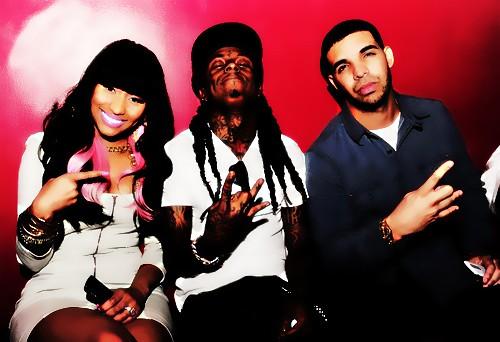 Nicki Minaj Lil Wayne & Drake