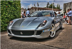 Ferrari 599 HGTE Sportscar. Goodwood Festival of Speed 2009 (Explore) (Antsphoto) Tags: car sussex classiccar britain ferrari historic explore fos hdr motorracing carshow sportscar motorsport topaz flickrexplore goodwoodhouse ferrari599 antsphoto topazadjust hgte goodwoodfestivalofspeed2009 ferrari599hgte anthonyfosh