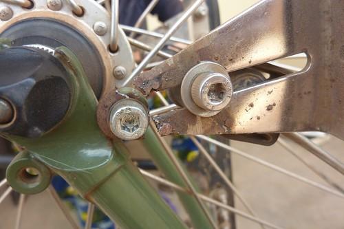 Broken rack
