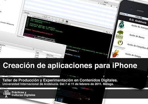 Creación de aplicaciones para iPhone