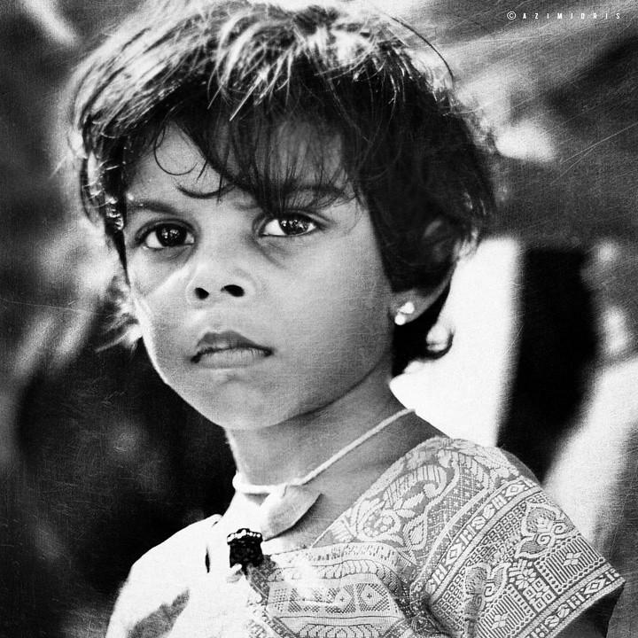 An Indian kids portrait