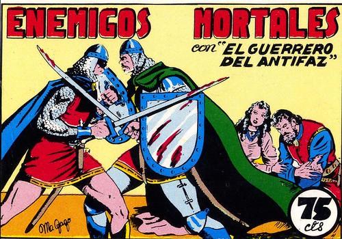 012-El Guerrero del antifaz nº 9 primera edicion-portada