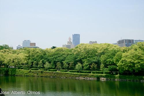 Jardines castillo Osaka II
