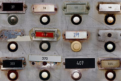 door bells (Leo Reynolds) Tags: letterjames 0sec 37multiple hpexif webthing xleol30x
