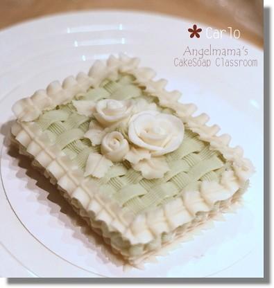 天使媽媽蛋糕皂教學carlo3