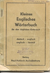 Little English Dictionary (Just Say Jules!) Tags: book wwii paperback german dictionary