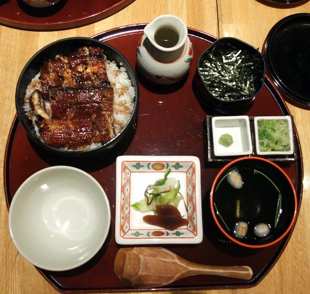 Nagoya Style Unagi (aka Hitsumabushi)