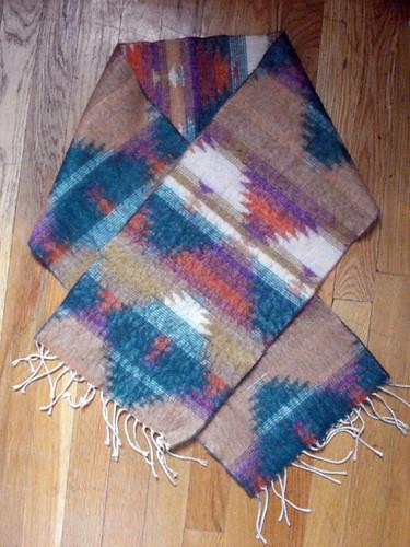 Navajo Stripe Scarf