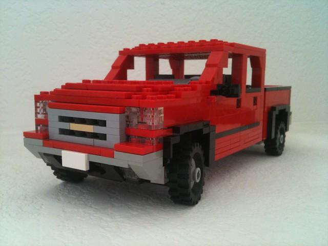 red ford chevrolet car truck gm lego 4x4 pickup f150 2006 chevy chrome dodge ram ck silverado ralph towing z71 savelsberg