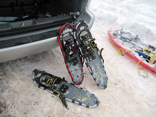 Snow shoeing 17