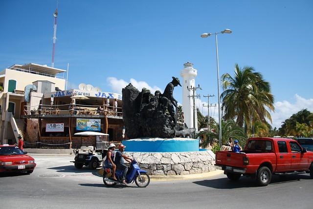 downtown Isla Mujeres