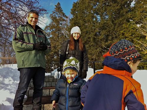 morris arboretum snow visitors