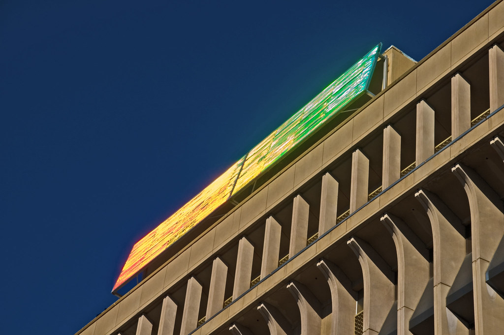 Rectangular Diffraction Grating - City Hall