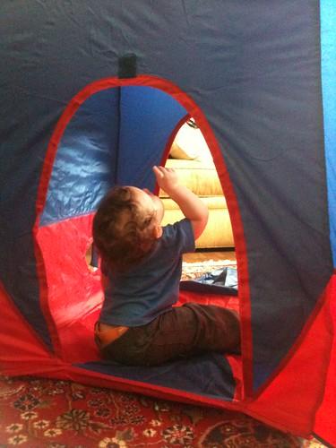 rocket tent.