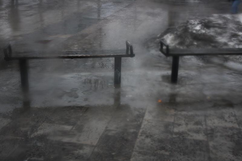 Dagen var grå av sig själv så jag behövde inte göra bilden svartvit.
