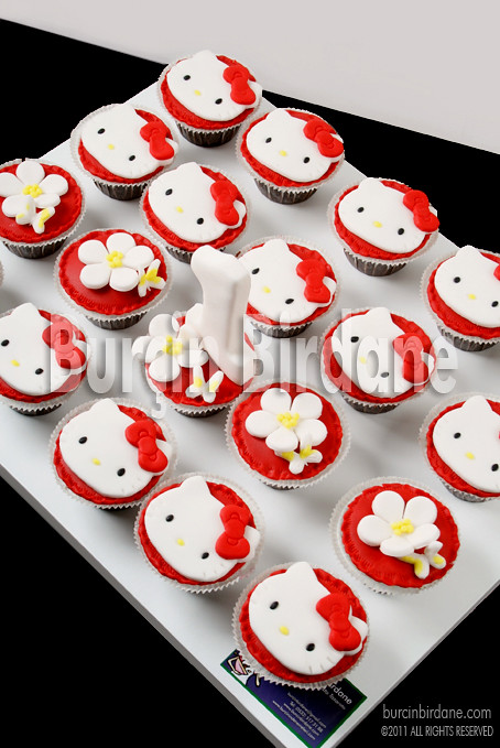 Hello Kitty Cupcake 2