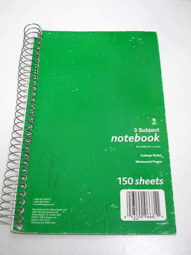 Trusty Note Book 7FEB2011
