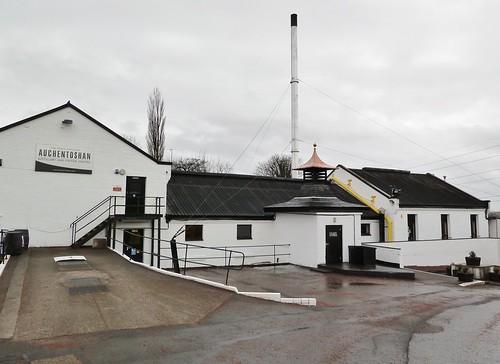 Auchentoshan Distillery, Glasgow,