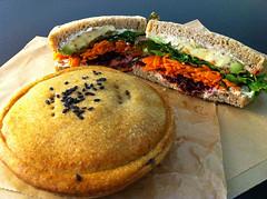 TOFWD: Mushroom pie and sandwich