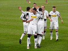 Jubel im Borussia-Park (TrickyMartin2006) Tags: stuttgart mnchengladbach bundesliga borussia fusball nordpark