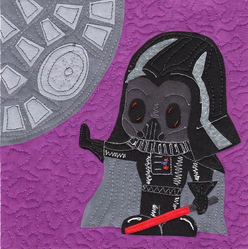 Mini Vader quiltlet