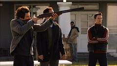 Neal Caffrey shotgun