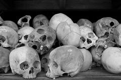 Choeung Ek (Florent Lanquetin) Tags: voyage travel camp skulls death asia cambodge cambodia massacre mort stupa cranes communism phnompenh asie capitale southeast commune genocide fosse communisme killingfields s21 khmerrouge massgrave extermination choeungek sudest charnier khmersrouges