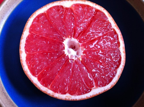 38. Pink grapefruit
