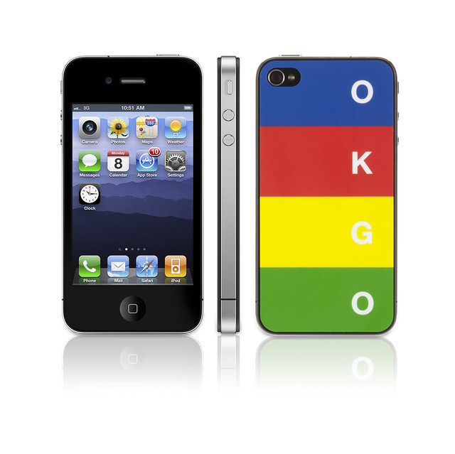 OK GO iPod touch skin