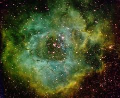 Rosette nebula in HST palette (Mickut) Tags: rosettenebula starlightxpress Astrometrydotnet:status=solved Astrometrydotnet:version=14400 sxvrh18 Astrometrydotnet:id=alpha20110207478668