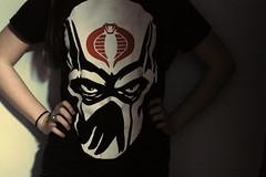 February 7th. (geepetsch) Tags: girl monster shirt project cool cobra snake hipster tshirt joe indie 365 bullshit gi 07feb11