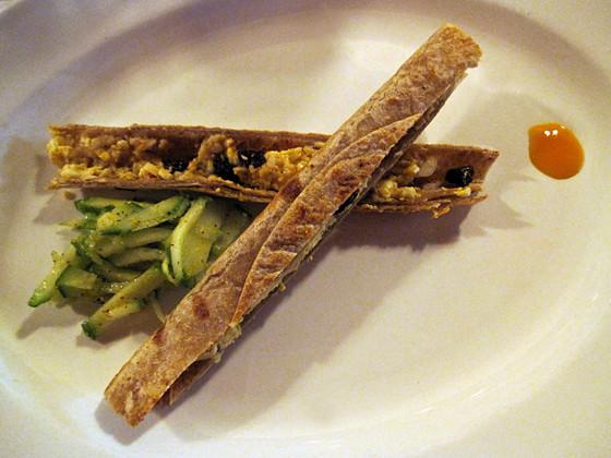 Calcutta Khati Rolls with Cucumber Salad