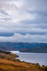 Autumn-Storm (stevestreet) Tags: autumn storm cold water clouds scotland highlands stormy loch 70200l locharkaig