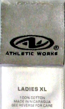 Athletic Works label