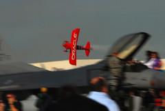 Stunt Plane - on edge