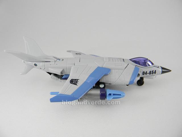 Transformers Jetblade HftD Deluxe - modo alterno