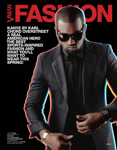 kanye west vman magazine pictures