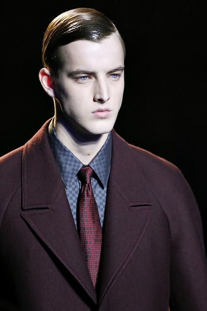 James Smith3267_FW11_Milan_Versace(VOGUEcom)