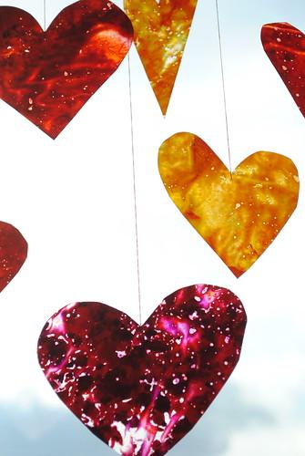 Crayon Hearts V