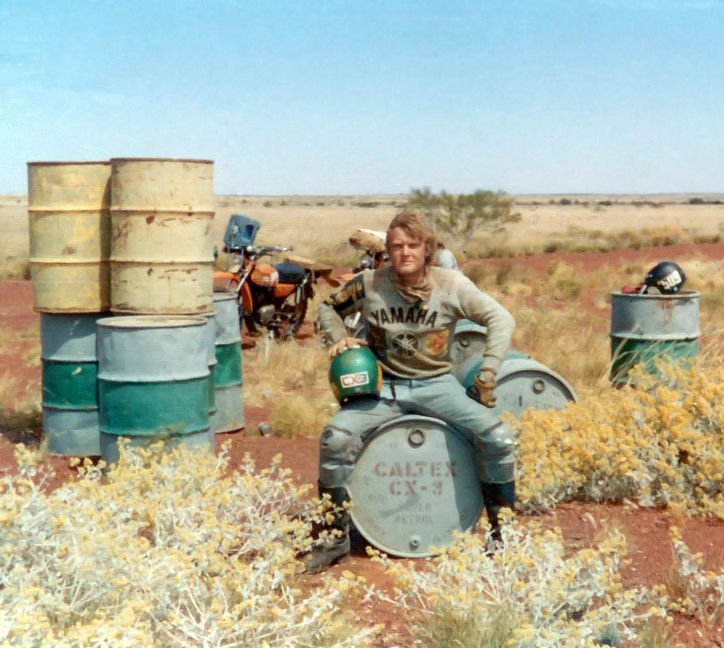 Fuel Dump on Talawana Track - 1974