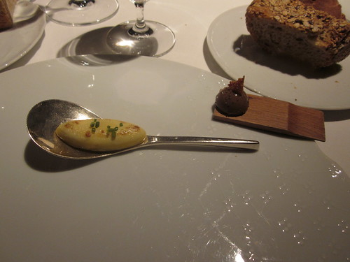 El Celler de Can Roca - Girona - February 2011 - Smoked herring-caviar omlette and pigeon parfait
