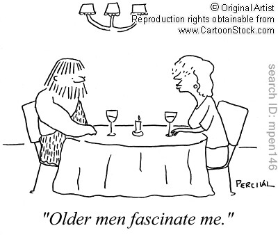 Older men fascinate me