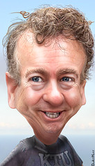Rand Paul - Caricature