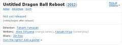 110214(1) - 好萊塢真人電影版《七龍珠 Dragon Ball》重新啟動、導演編劇與主角人選出爐!