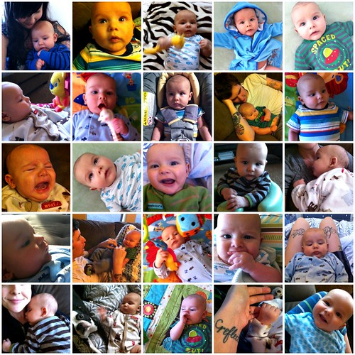 3 month collage