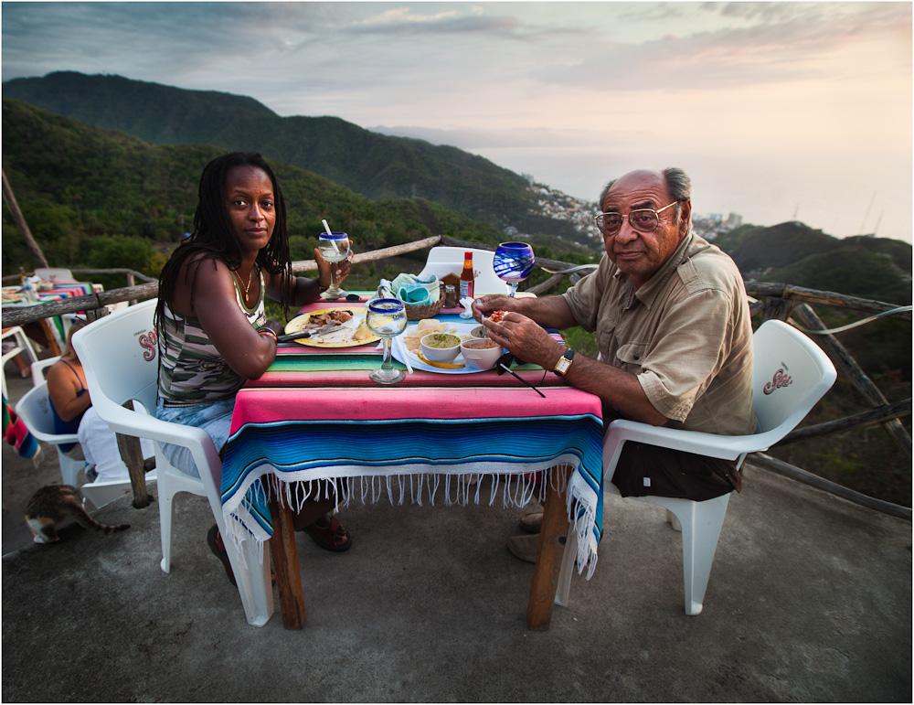Dinner in Vallarta